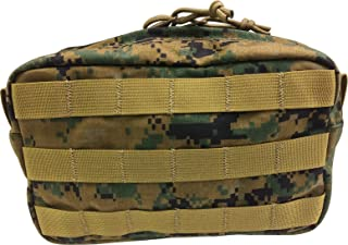 Fire Force Item 8902 MOLLE Horizontal Utility Pouch Made in USA