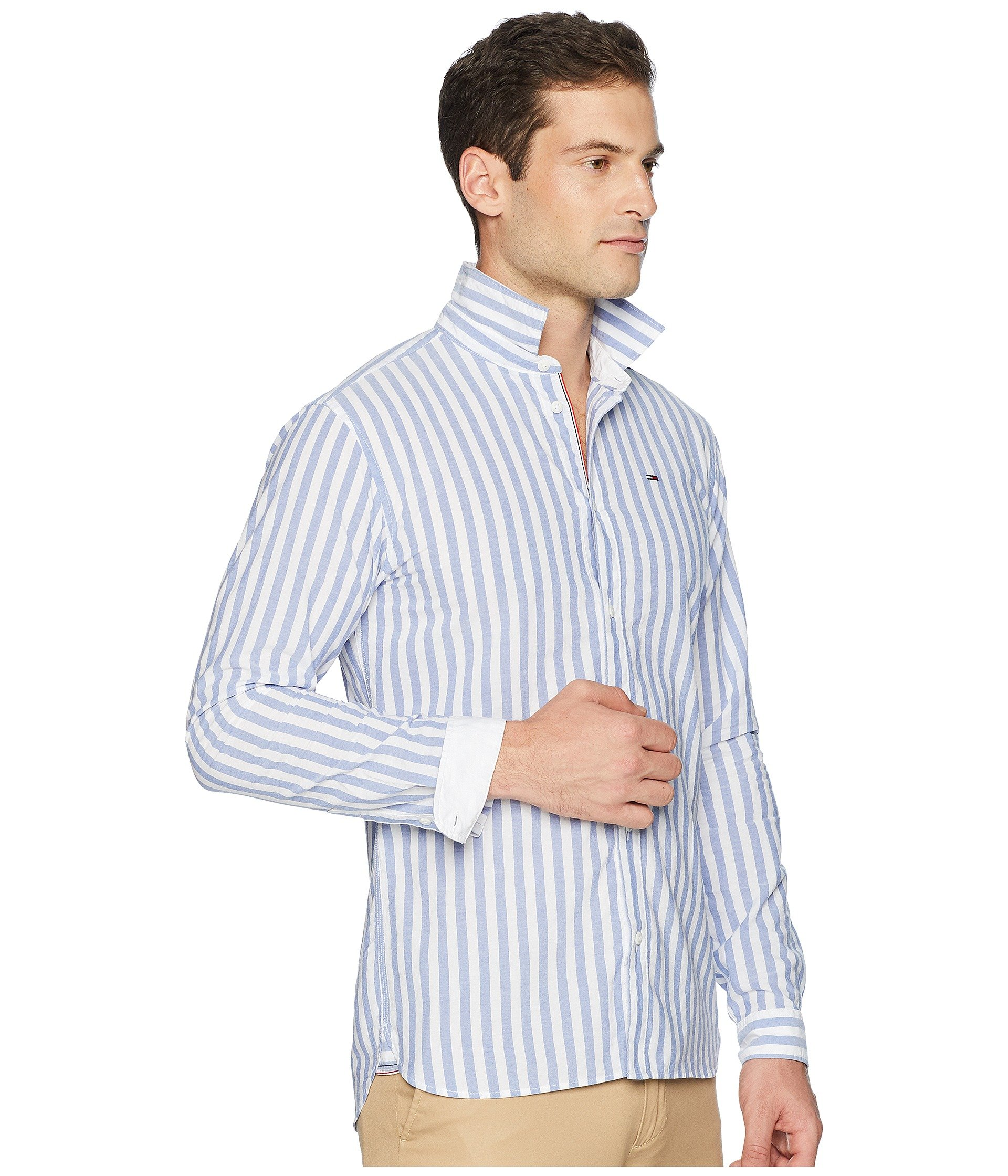 Shirt bold Tommy Jeans Essential Classic White Stripe xCFx0wqURt