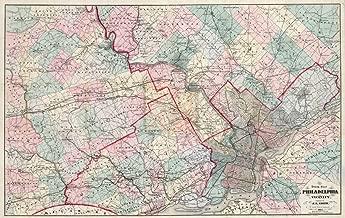 Best vintage philadelphia map Reviews