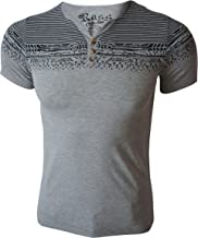Rass Collection MFL-2676 Henley T-Shirt - Men's Tee Shirts