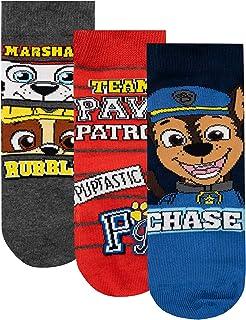 Rubble e Chase in una confezione da 6 Rocky diversi motivi Paw Patrol calzini per bambini e ragazzi con Marshall 27//30