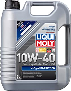 Liqui Moly 2043 MoS2 Anti-Friction 10W-40 Motor Oil - 5 Liter Bottle