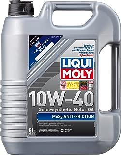 Liqui Moly 2043 MoS2 Anti-Friction 10W-40 Motor Oil - 5 Liter Bottle
