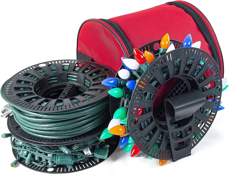 Santa's Bags Wire and Christmas Under blast sales San Antonio Mall Lighting Bag Install - Storage