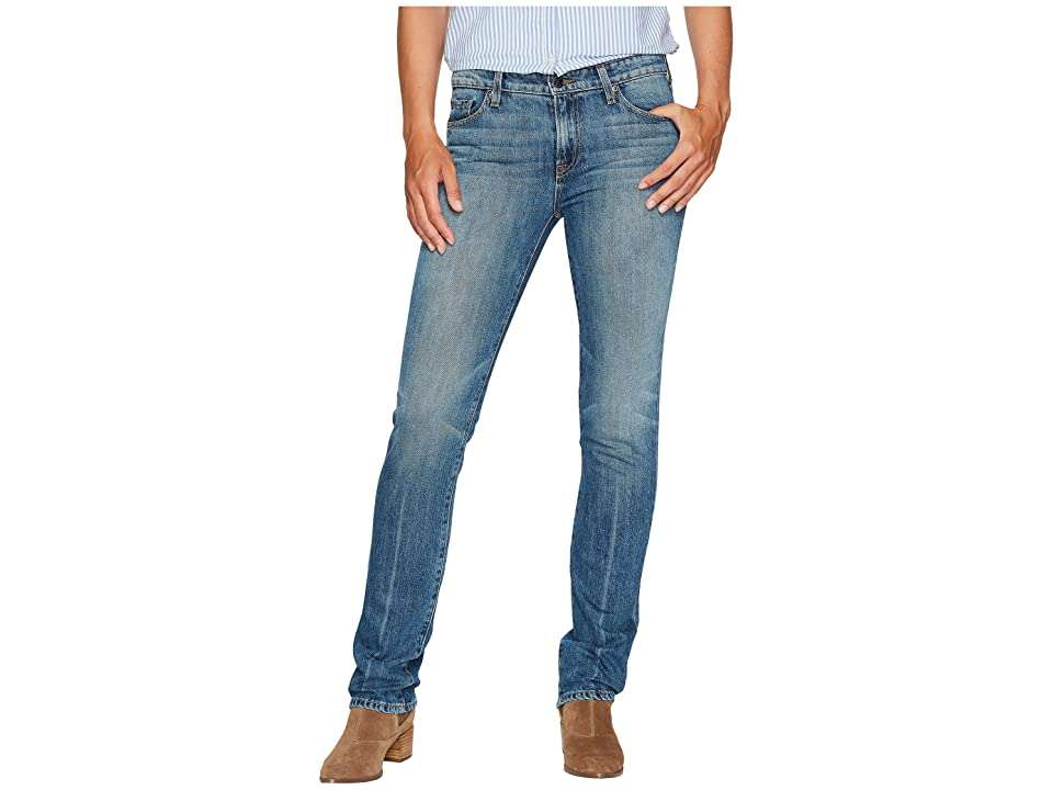 Agave Denim Rosie Stone Straight Fit Jeans in Medium Fade (Medium Fade) Women's Jeans