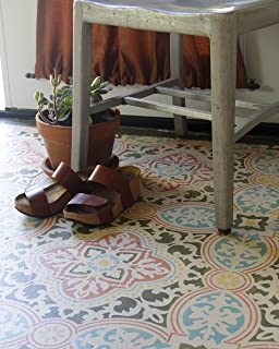 Anatolia Tile Stencil for Painting Floors - Large Tile Stencils - Modern Farmhouse Tile Floor Stencils - DIY Wallpaper Tiled Wall Stencils