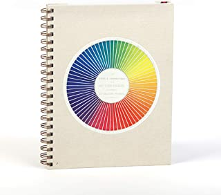 Color: A Sketchbook and Guide (8-1/4 x 11 inches, hardcover with wire binding, 100 blank pages plus 40 full-color vintage illustrations)