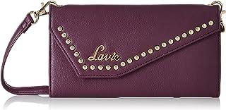 Lavie Andre Mobile + Sling Tri Fold Women's Wallet(Purple)