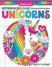 Notebook Doodles Unicorns (Design Originals) Encouraging Coloring Book with 32 Whimsical Designs & Beginner-Friendly Art A...