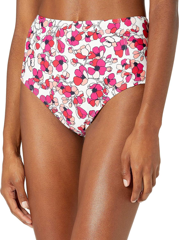 Tommy Hilfiger Women's Standard High Waisted Bikini Bottom