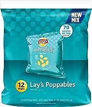 Lay's Poppables Sea Salt Potato Snacks, 12 Count