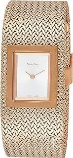 Calvin Klein Womens Analogue Quartz Watch with Stainless Steel Strap K5L13636