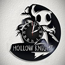 Olha Art Design Hollow Knight Handmade Vinyl Record Wall Clock for Birthday Wedding Anniversary Valentine's Mother's Ideas for Men and Women him and her