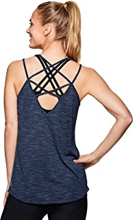 RBX Active Women's Strappy Flowy Yoga Tank Top