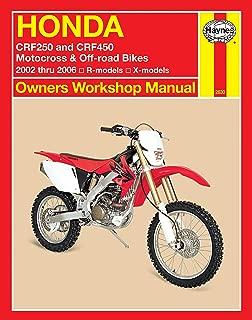 Best 2002 crf450r manual Reviews