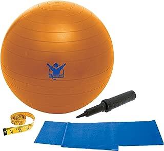 The Biggest Loser 55cm Core Advantage Stability Ball (Orange)