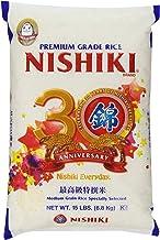 Nishiki Premium Rice, Medium Grain, 15-Pound Bag (packaging may vary)