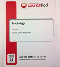 LaunchPad for Schacter's Psychology (24 Month Access) 3rd Edition