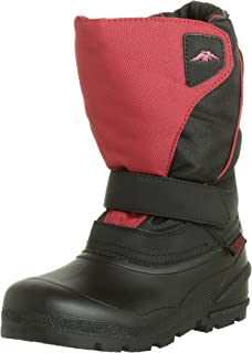 Tundra Quebec Child Winter Boots Red 2 M US Little Kid