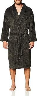 Men's Marled Plush Knit Robe