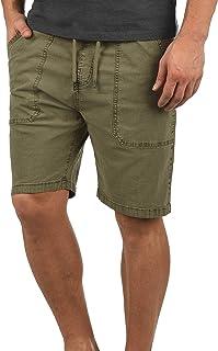 Indicode Francesco Herren Chino Shorts Bermuda Kurze Hose Mit Kordel Mit Stretch-Anteil Gewaschen
