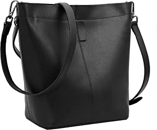 On Clearance Sale Iswee Women Leather Handbags Tote Bag Crossbody Shoulder Bag Bucket Bag