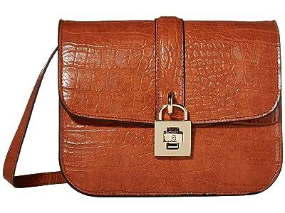 Steve Madden Bestella (Cognac) Cross Body Handbags