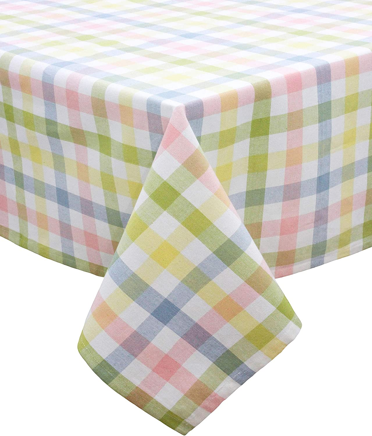 COTTON CRAFT Max 62% OFF Spring Gingham Pastel Checked Tab Plaid Cotton Challenge the lowest price of Japan ☆ Pure