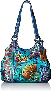 Anuschka Handbags Women's 469 Triple Compartment Medium Satchel