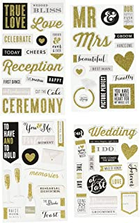 Me & My Big Ideas Chipboard Value Pack-Our Wedding