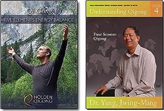 Bundle: Immunity Boost Qigong 5 Elements & 4 Seasons (YMAA) 2-DVD Lee Holden & Dr. Yang, Jwing-Ming Qigong DVD **BESTSELLER**