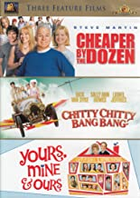 Cheaper by the Dozen / Chitty Chitty Bang Bang / Yours, Mine, & Ours (Three Feature Films)