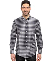 U.S. POLO ASSN. - Long Sleeve Oxford Cloth Button Down Gingham Check Sport Shirt