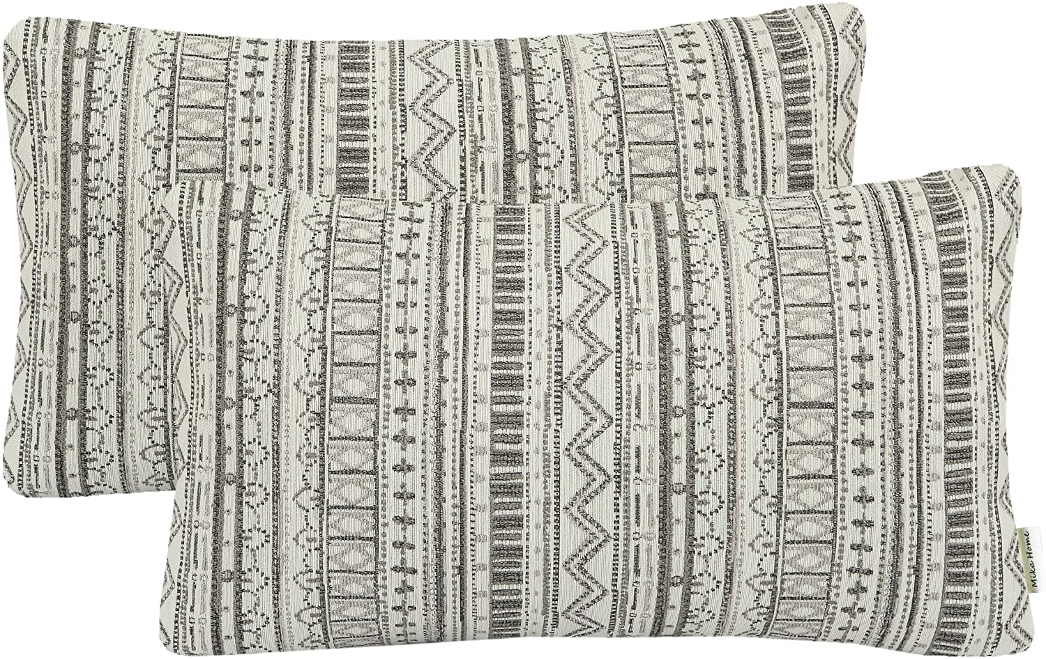 Max 80% OFF Mika Home Pack of 2 Rectangle Throw Cases Max 71% OFF Pillow Pill Decorative