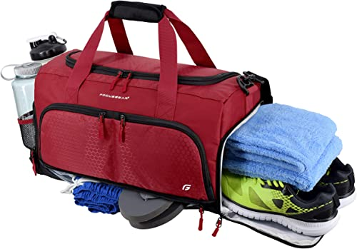 Ultimate Gym Bag 2.0: The Durable Crowdsource Designed Duffel Bag with 10 Optimal Compartments Including Water Resist...