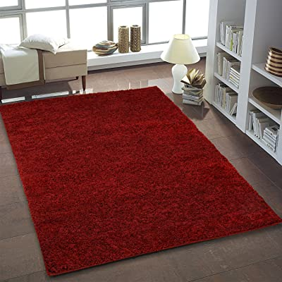 Ladole Super Soft Shaggy Area Rug for Living Room, Bedroom, Dining Area, Nursery