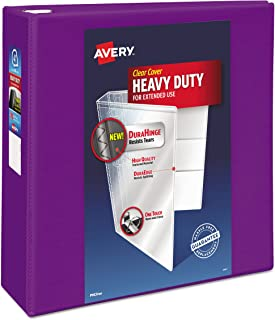 Avery Heavy Duty View 3 Ring Binder, 4