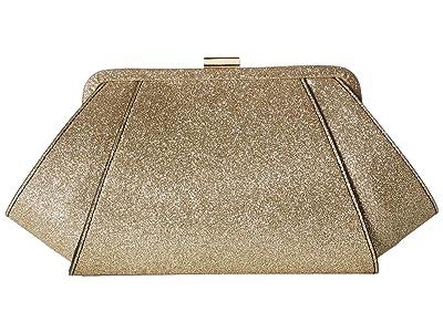 ZAC Zac Posen Posen Clutch (Gold Glitter) Clutch Handbags