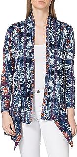 Desigual Women's JERS_Santorini Cardigan Sweater