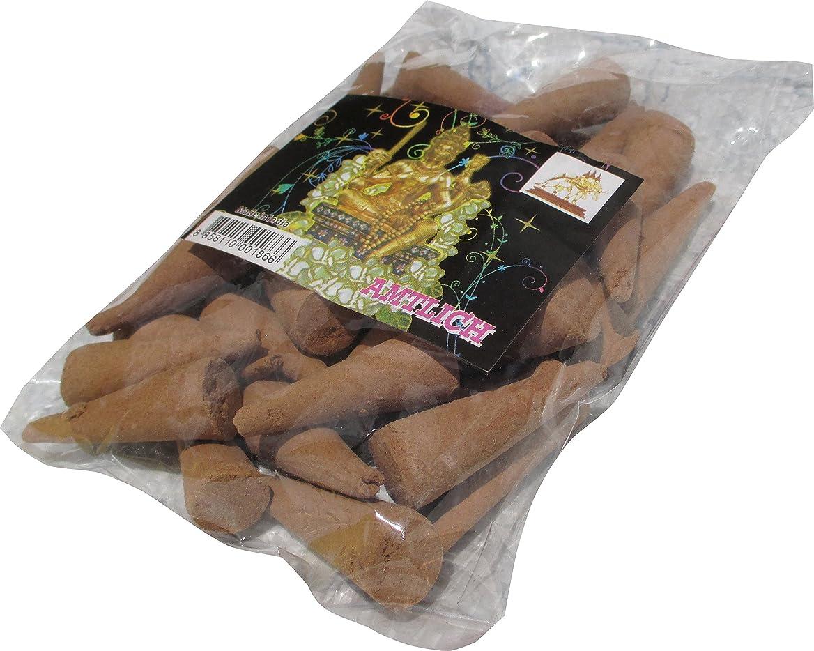憂鬱むしろアンカーRaanPahMuang Incense Fragrant Conesバルクパック?–?ブラウン40?–?50個