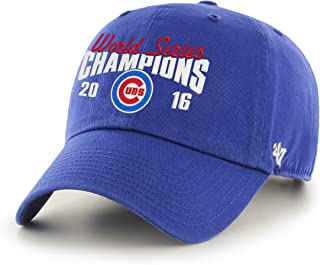 Chicago Cubs 2016 World Series Champions Script Clean Up Cap