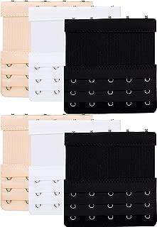 Bra Extender 2-5 Hook(Optional) Bra Extension Elastic for Women White/Black/Beige