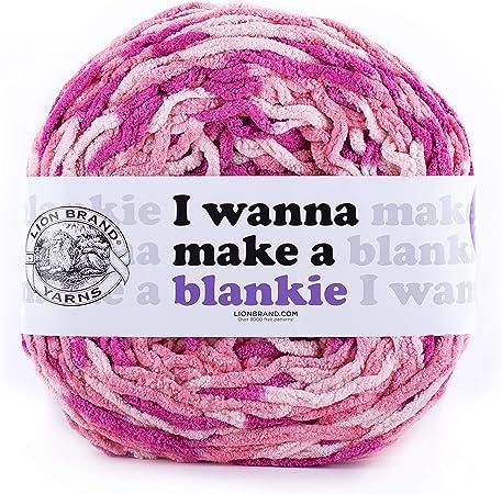 Lion Brand I Yarn Wanna Make a Blankie Yarn
