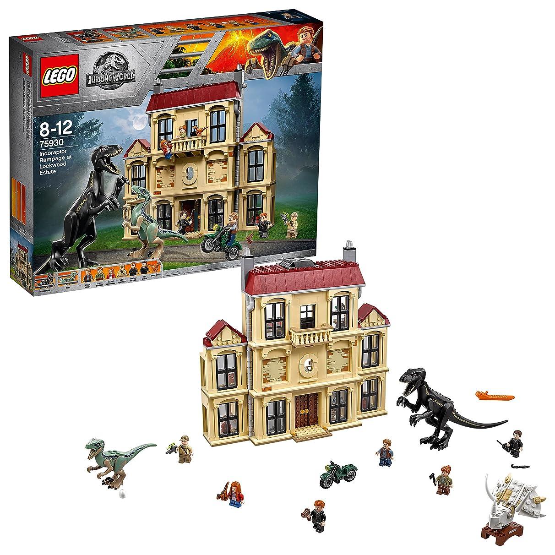 LEGO Jurassic World's Indoraptor Verwüstung Lockw – Structure 75930 Toy for Boys & Girls