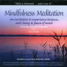 Mindfulness Meditation with Dr. Joanne Chapman Vol. 2 (Includes 2 Discs)