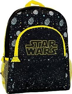Star Wars Mochila para Niños Negro