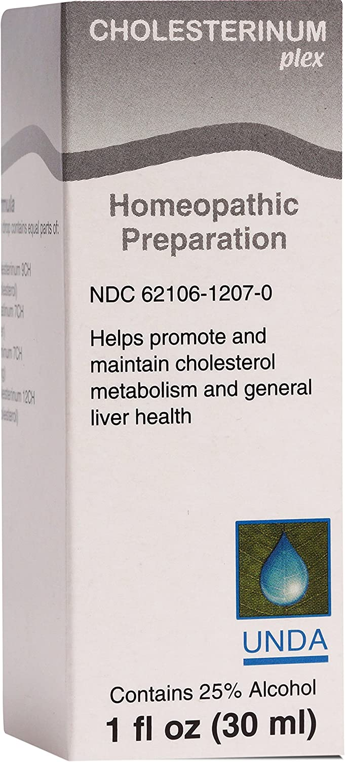 UNDA - Atlanta Mall Cholesterinum Plex Homeopathic Liver Ranking integrated 1st place Supports Remedy He