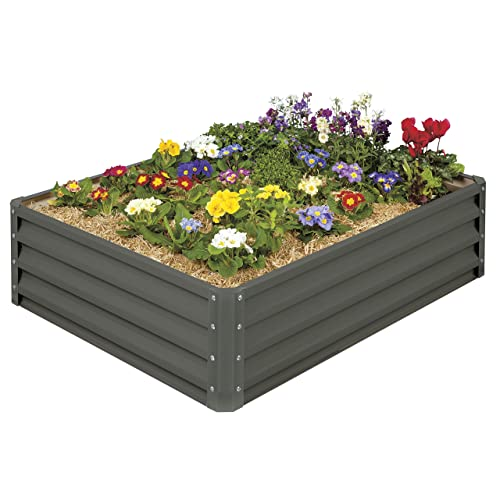 Raised Garden Beds: Amazon.com on vertical garden planter, raised flower planter, raised redwood planter boxes, raised patio planter,