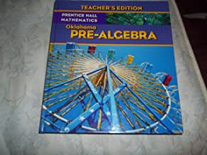Prentice Hall Mathematics Pre-Algebra Oklahoma Teachers Edition