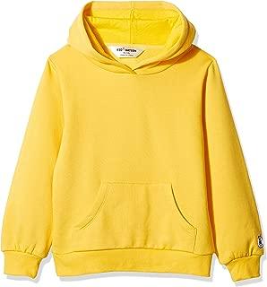 Kids' Soft Brushed Fleece Casual Basic Pullover Hooded Sweatshirt Hoodie for Boys or Girls